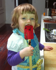 DaughterWithSpatula